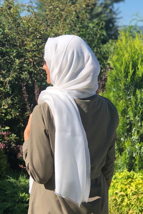 Beyaz Marin Şal