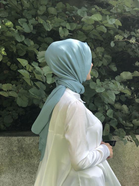 Nil Yeşili Cazz Şal