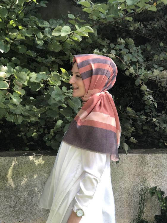 Turuncu Helen Şal