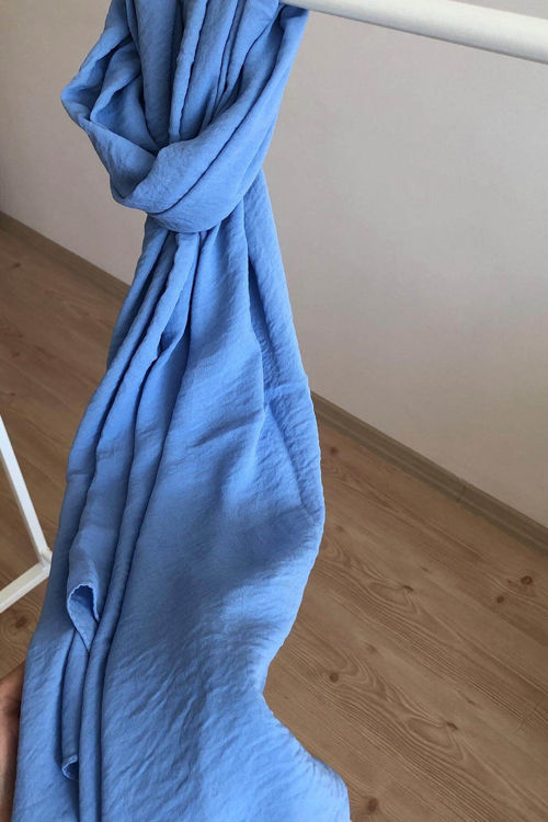 Bebe Mavisi Cazz Şal